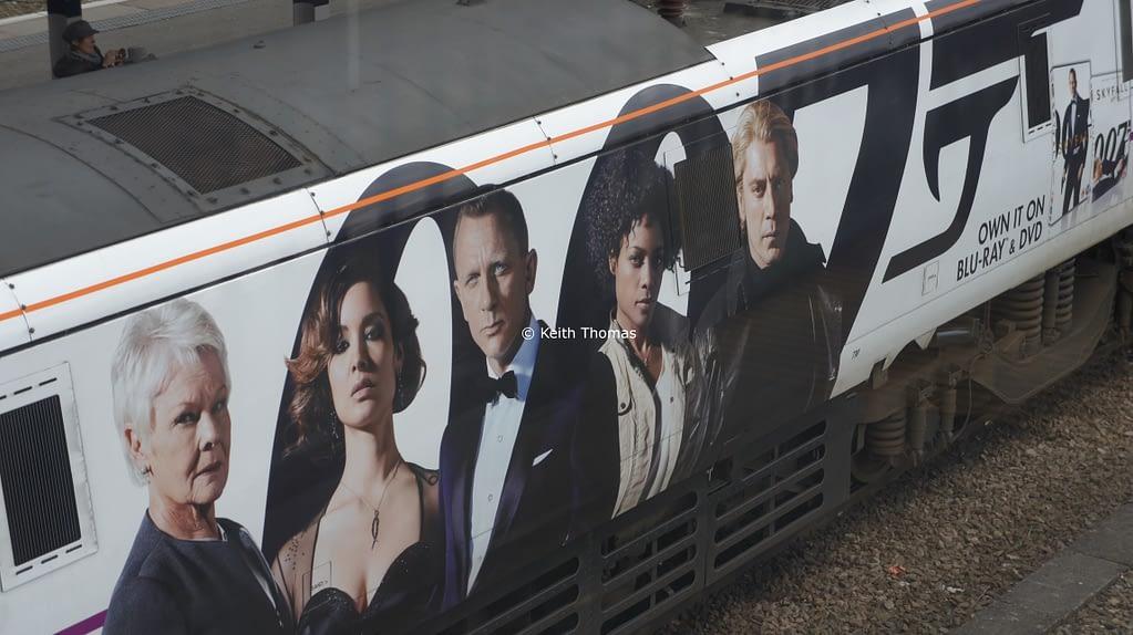 James Bond Skyfall Train
